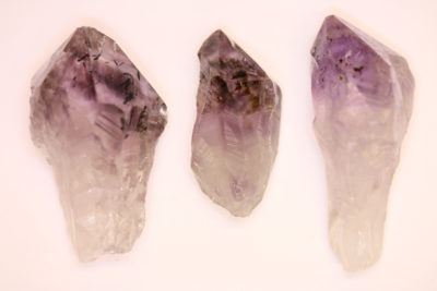 Ametyst med Hematitt krystall 3 til 5cm