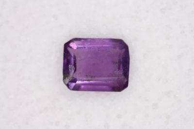 Ametyst fasett 1.28ct  6.0×7.6mm