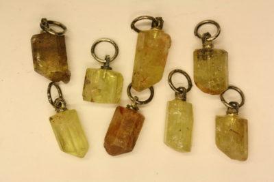 Apatitt gul krystallanheng ca 15mm