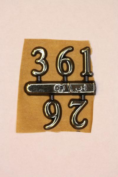 Arabertal halvt sett 12mm