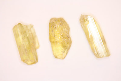 Heliodor krystall 20 til 25mm fra Pakistan