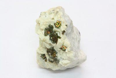 Dolomitt, Pyritt 75g 3.5×4.5cm fra Marokko