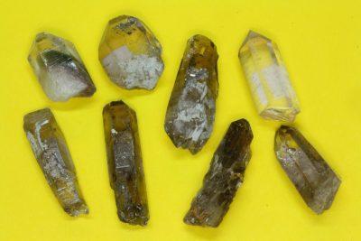 Røykkvarts krystall 2 til 3cm fra Hardangervidda