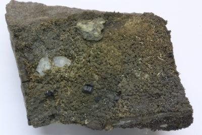 Sølv på moderstein fra Vinoren i Kongsberg 105g 5x6cm
