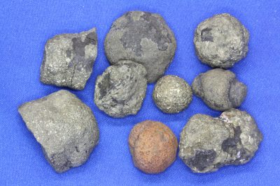 Svovelkis knoll 2 til 3cm fra Brumunddal