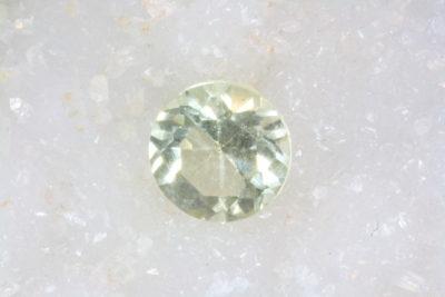 Topas gyllen fasett 1.82ct ø8mm