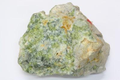Wavellitt A krystaller på moderstein  fra Pencil Bluff, Garland Co Arkansas USA 200g 7x9cm