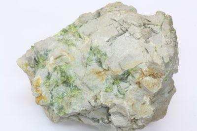 Wavellitt B krystaller på moderstein  fra Pencil Bluff Garland Co Arkansas USA 0,55kg  9x11cm
