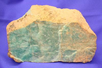 Amazonitt fra Evje i Setesdalen 1.6kg 9x18cm 5cm tykk