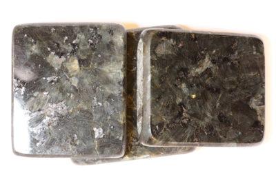 Emerald pearl plate ca 5x5cm