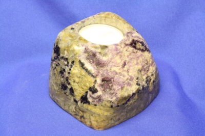 Fluoritt calcitt B Tlys 0.68kg 6x10cm fra Hordaland