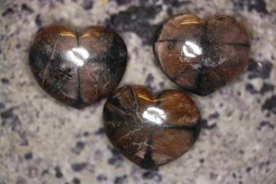 Chiastolitt lommehjerte 35mm