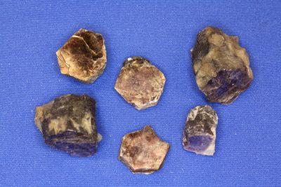 Lepidolitt krystall 1 til 2cm