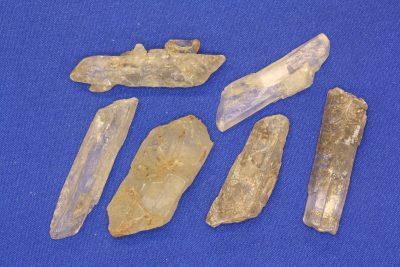 Selenitt hvit krystall 3 til 4cm Isle of Sheppy Kent England