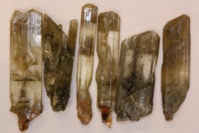 Gips krystall 3 til 4cm