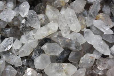 Bergkrystall dobbelt terminert krystall 3 til 5cm