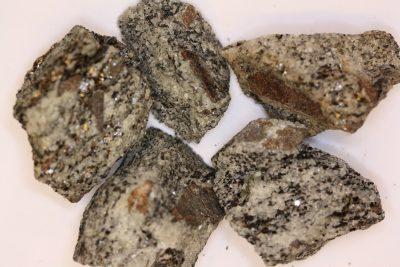 Staurolitt krystall i moderstein 4 til 5cm fra Fjordvangen på Nesodden