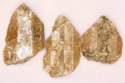 Barytt gul krystall 4 til 5cm fra Styggedal Tråk