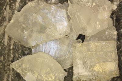 Krystall plate  4 til 6cm  fra Sørskogen i Bardu  Norge