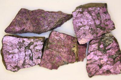 Purpuritt  25 til 30g  ca 4cm fra Usakos Erongo i Namibia