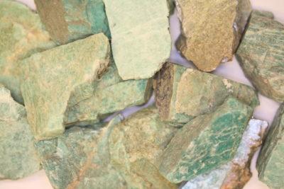 Amazonitt Norge råsteinbit 4 til 5cm