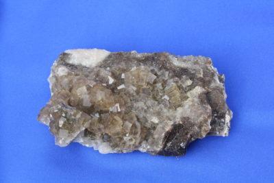 Fluoritt klynge 0.45kg 7x13cm fra Spania