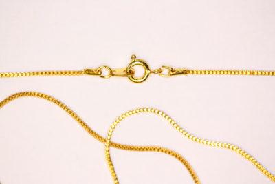 Kjede gull farget 60cm