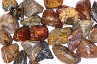 Pietersitt polert 1 til 3cm fra Namibia