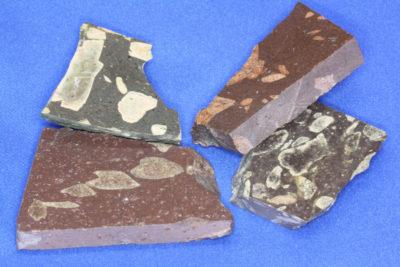 Porfyr rombe platebit 3 til 4cm fra Hof i Vestfold