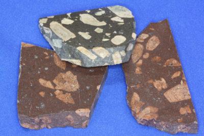 Porfyr rombe platebit 5 til 6cm fra Hof i Vestfold