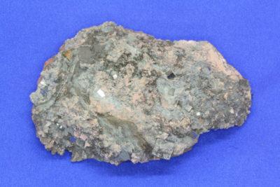 Pyritt krystaller i moderstein 175g 6x9cm fra Konnerud i Drammen