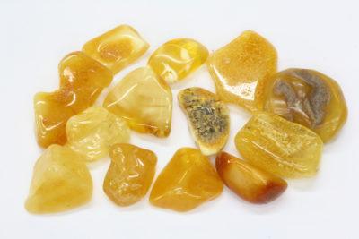 Rav gul polert 1 til 2cm