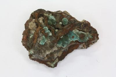 Rosacitt B krystaller på moderstein 20g 26x38mm fra Durango i Mexico