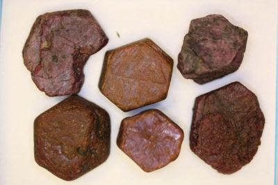 Rubin krystall Afrika  ca 3cm