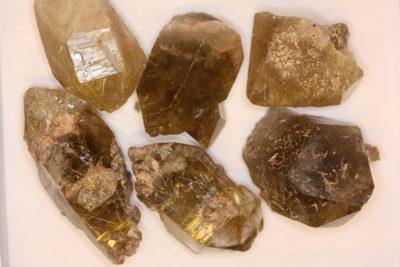 Rutilkvarts krystall 4 til 5cm