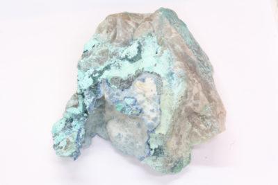 Shattuckitt  på moderstein fra Kaokoveld Kunene i Namibia 122g 60x70mm