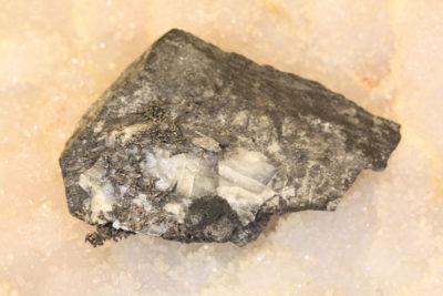 Sølv på moderstein fra Vinoren i Kongsberg 30g 4x6cm