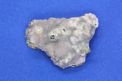 Smithsonitt blå B 28g 2.5×3.5cm fra Sinalda i Mexico