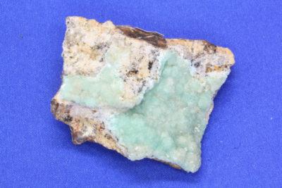 Smithsonitt grønn C 47g 3.5x4cm fra Sinalda i Mexico