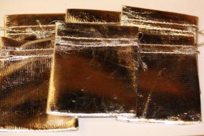 Smykkepose sølv 9x12cm