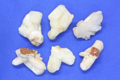 Stilbitt gruppe ca 4cm fra Poona i India