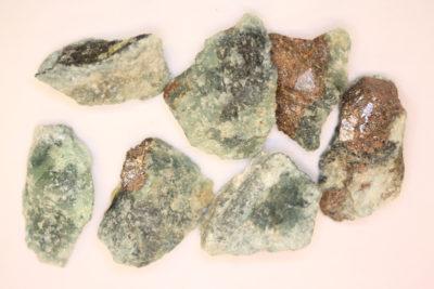 Trolleitt små blå spotter i moderstein 2 til 3cm fra Horrsjöberg Torsby Sverige