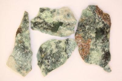 Trolleitt små blå spotter i moderstein 3 til 5cm fra Horrsjöberg Torsby Sverige