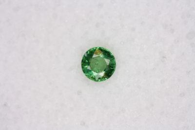 Granat Tsavoritt fasett rund 4mm 0.34ct