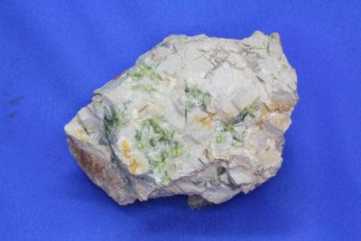 Wavellitt B krystaller på moderstein  fra Garland Arkansas 0,55kg  9x11cm