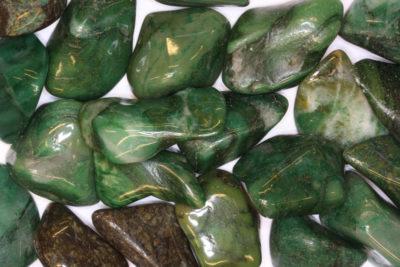 Worry stone polert ca 3cm