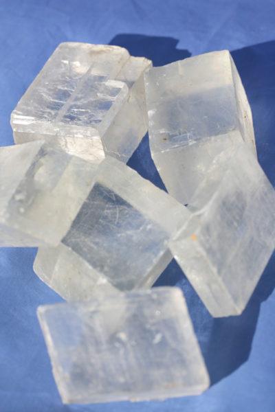Calcitt Islandspat krystall  ca 250g