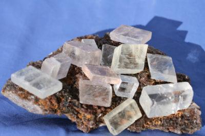Calcitt Islandspat krystall