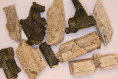 Diopsid krystaller fra Froland og Rana
