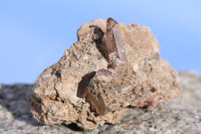 Topas gyllen fra Thomas Range i Utah  40g 3x5cm